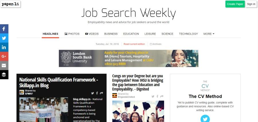 Tuesday, Jul. 19, 2016 - Job Search Weekly - Google Chrome 15082016 102508.bmp